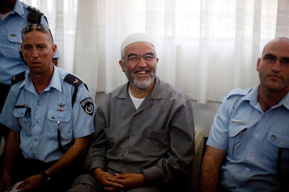 Il leader del movimento islamico israeliano Raed Salah