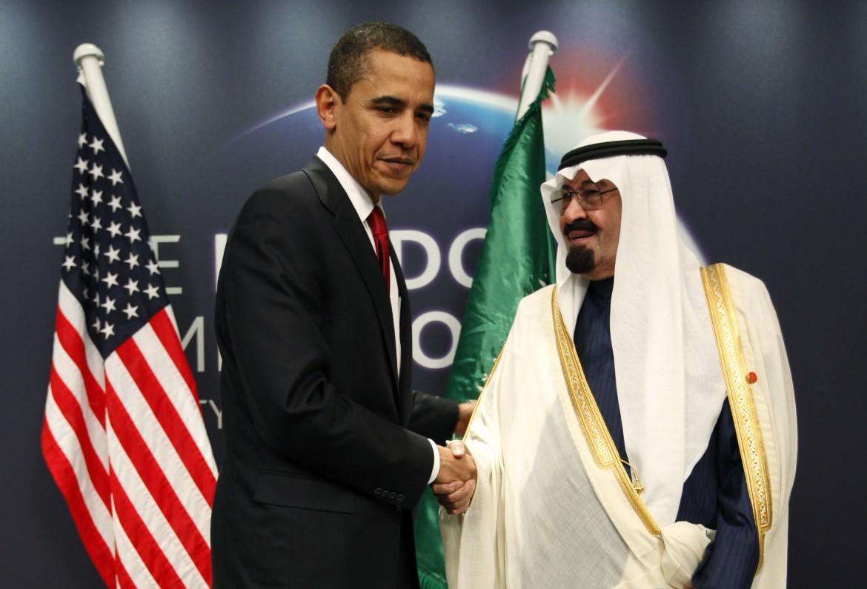Obama e re Abdullah