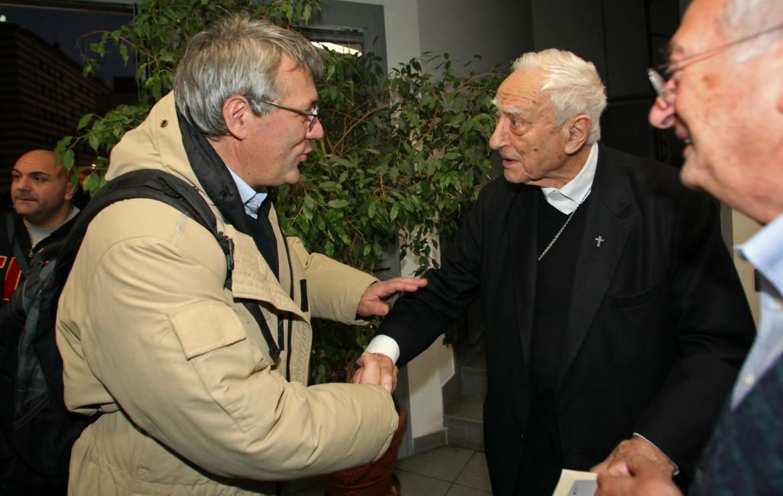 Maurizio Landini e Luigi Bettazzi