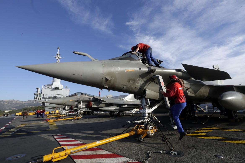 Caccia francesi dispiegati in Siria
