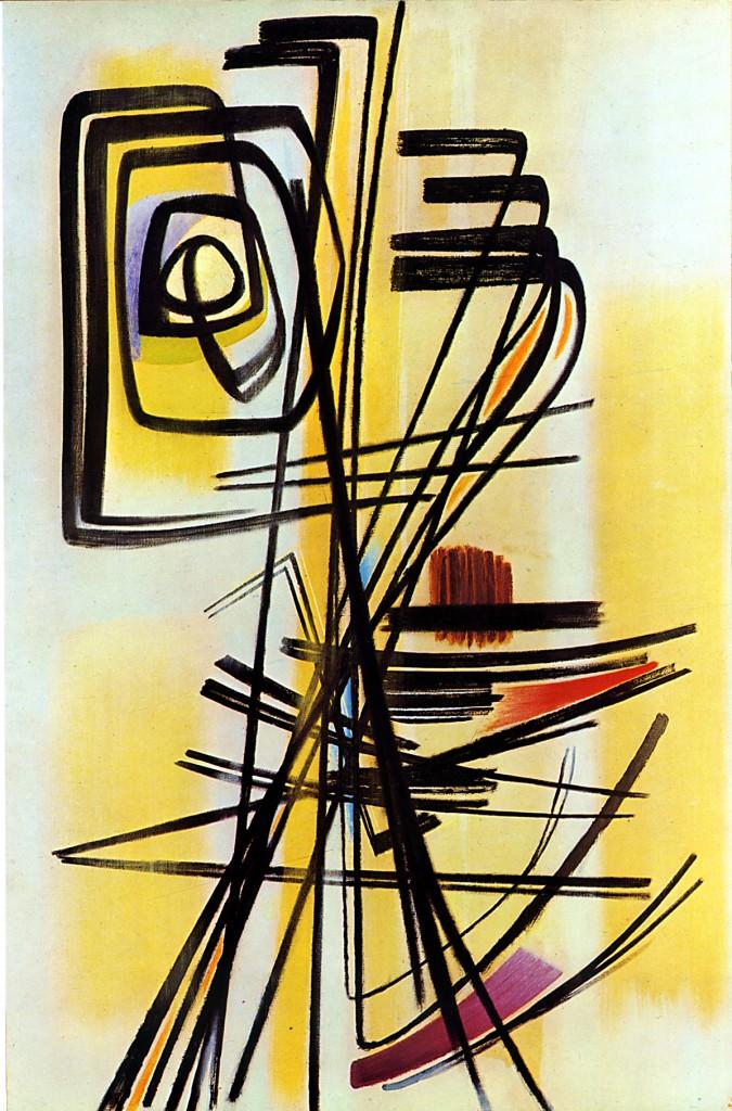 Hans Hartung, «T. 1947-12»