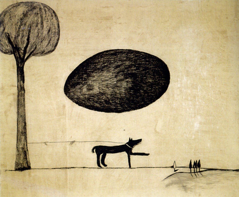 Enzo Cucchi, «A terra d'uomo», 1980