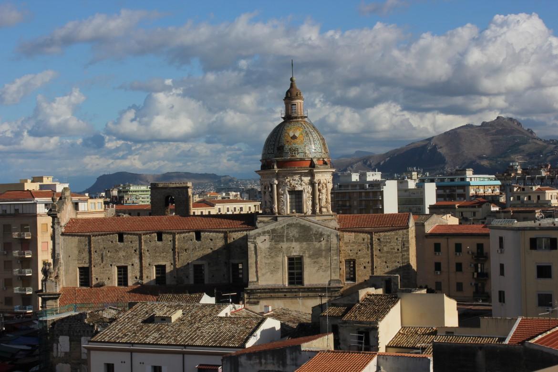 Una veduta del centro storico Palermo