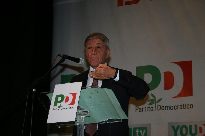 Antonio Bassolino, ex sindaco di Napoli e governatore della Campania