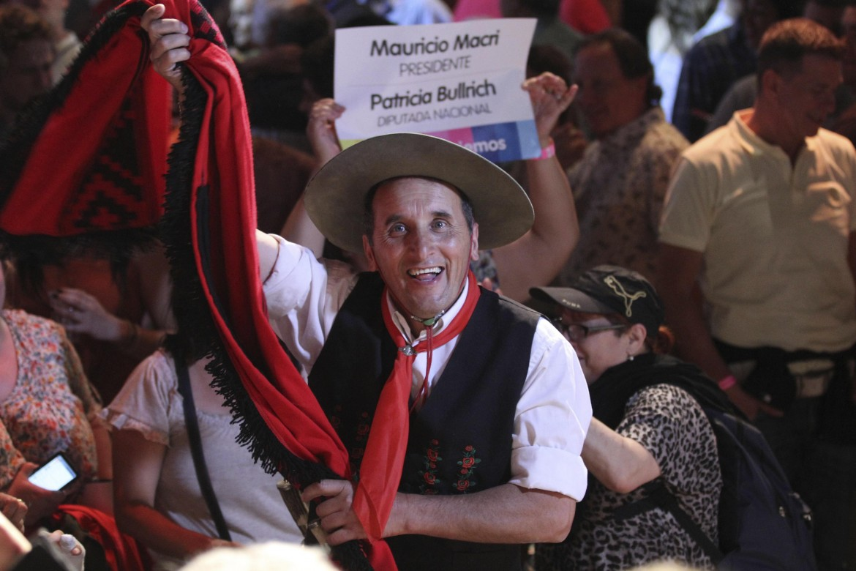 Argentina, la festa di Macri