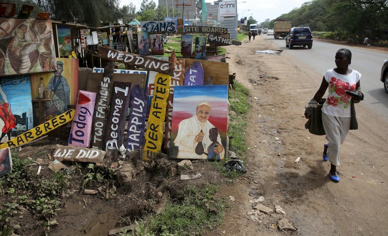 La visita del papa in Kenya