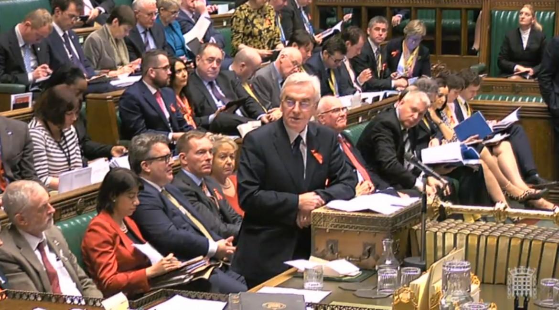 La Camera dei Comuni durante lo speech di George Osborne