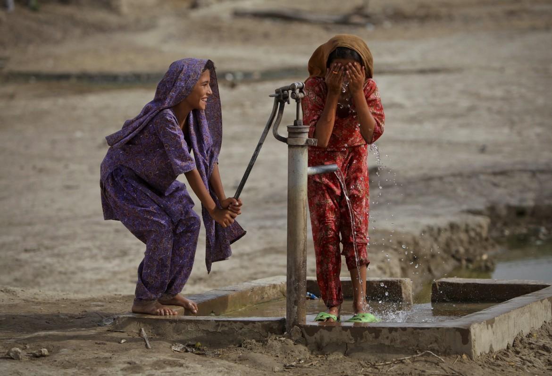 Pakistan, pozzo d'acqua