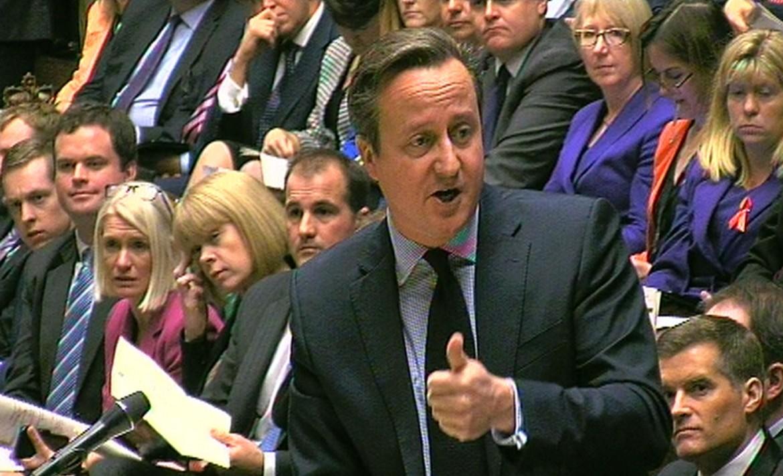 David Cameron ai Comuni