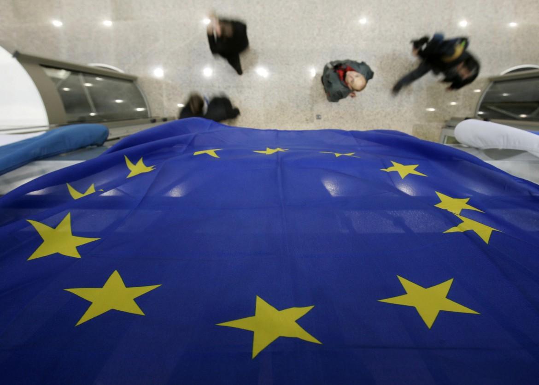 All'interno del palazzo della commissione europea
