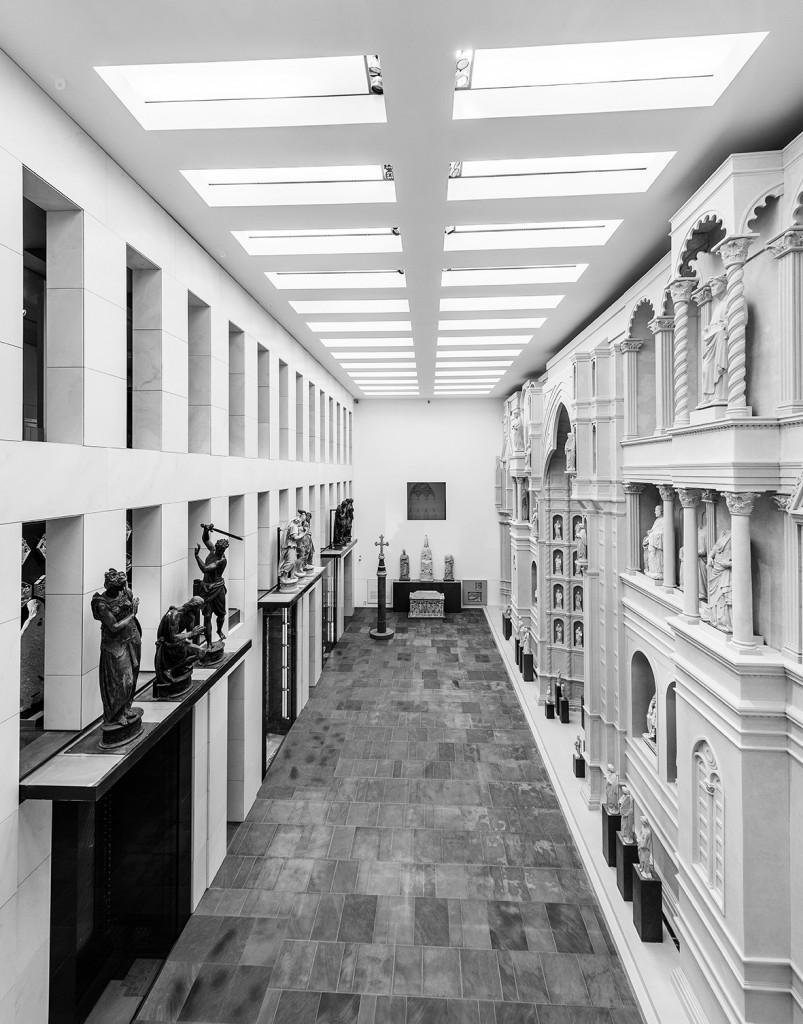 Museo dell'Opera del Duomo, Sala del Paradiso o dell'Antica facciata, foto Antonio Quattrone