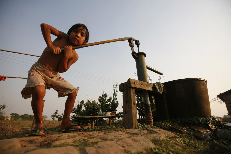 Un pozzo in India