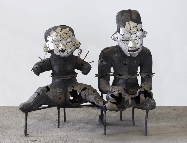 «Scared-couple», un'opera di Xavier Mascaro