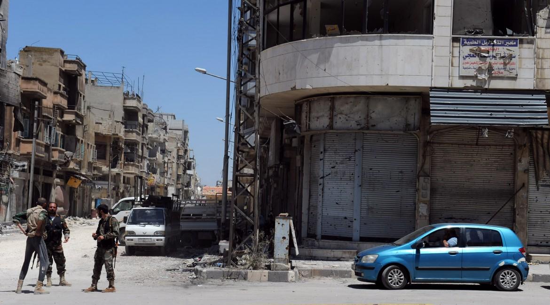 La città siriana di Homs