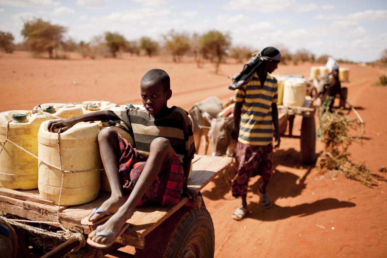 La siccità a Barmil, in Kenya