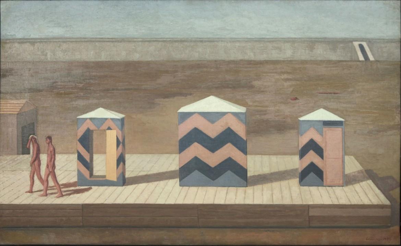 Giuseppe Capogrossi, «Piena sul Tevere», 1934, Roma, GNAM