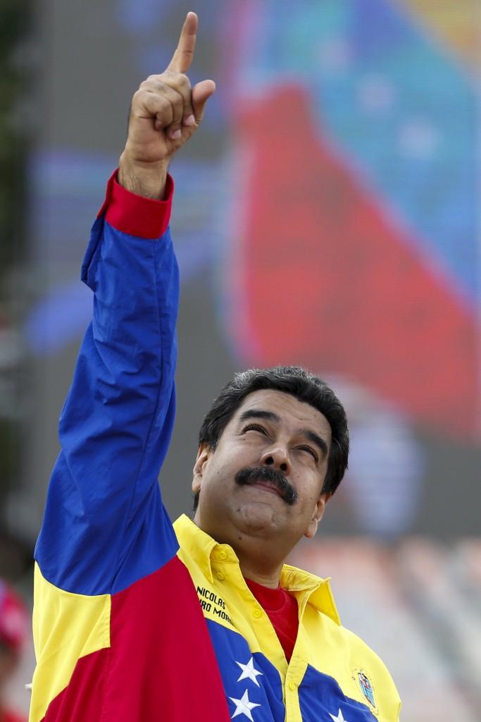 Il presidente del Venezuela Nicolás Maduro Moros