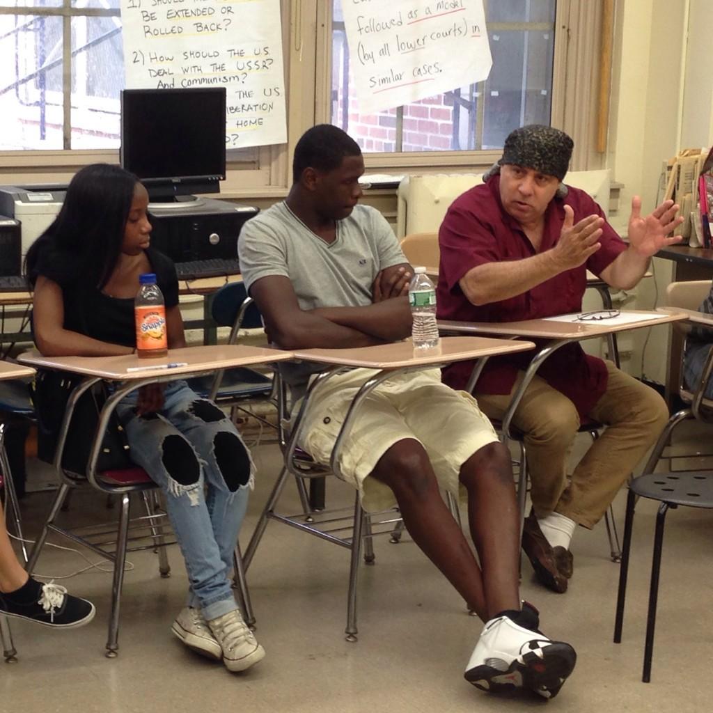 Steven Van Zandt in classe