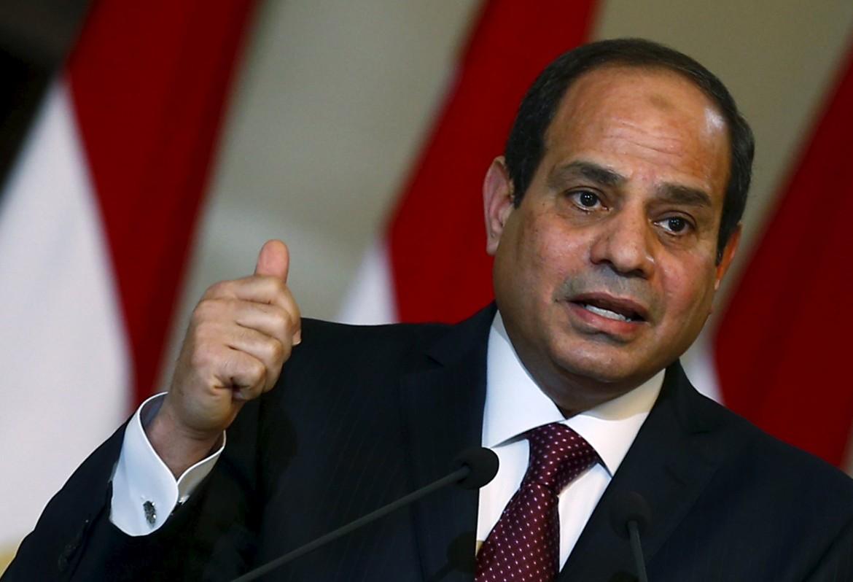 Il presidente dell'Egitto Al Sisi