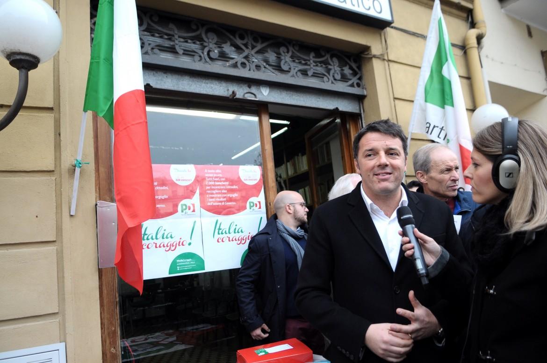 Matteo Renzi a Pontassieve
