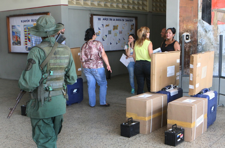 Preparativi elettorali a Maracaibo