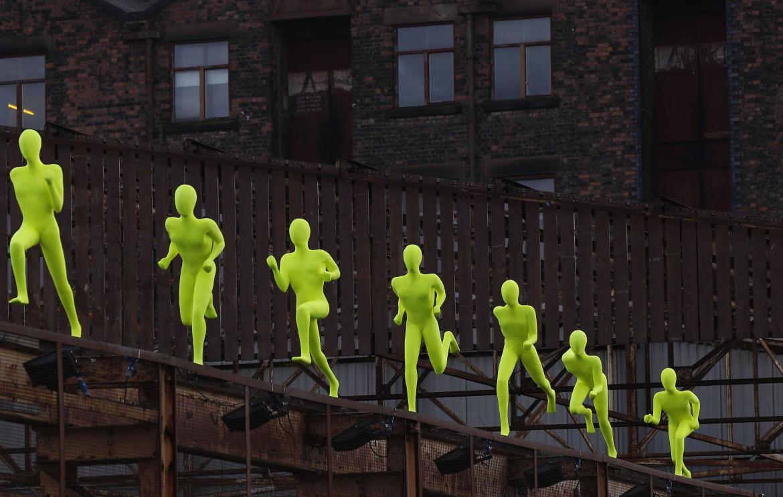 Un'installazione  al Liverpool Discovers Festival
