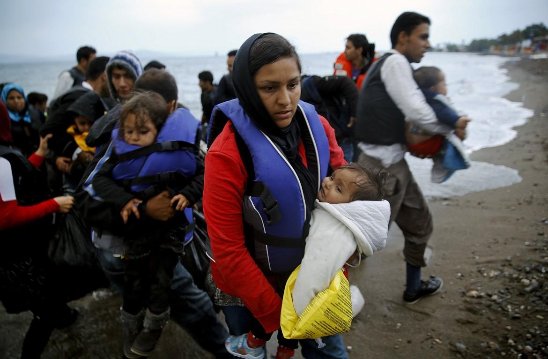 Migranti afghani sbarcano a Kos, in Grecia, il 27 maggio scorso