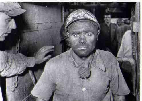 Un minatore sopravvissuto alla strage di Ribolla