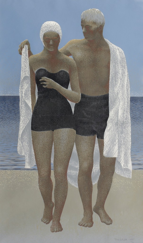 Alex Colville, After Swimming