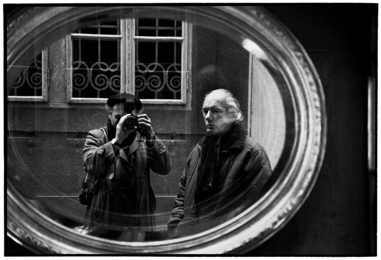 Thomas Bernhard a Vienna nel 1988