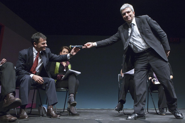 Nichi Vendola e Stefano Fassina