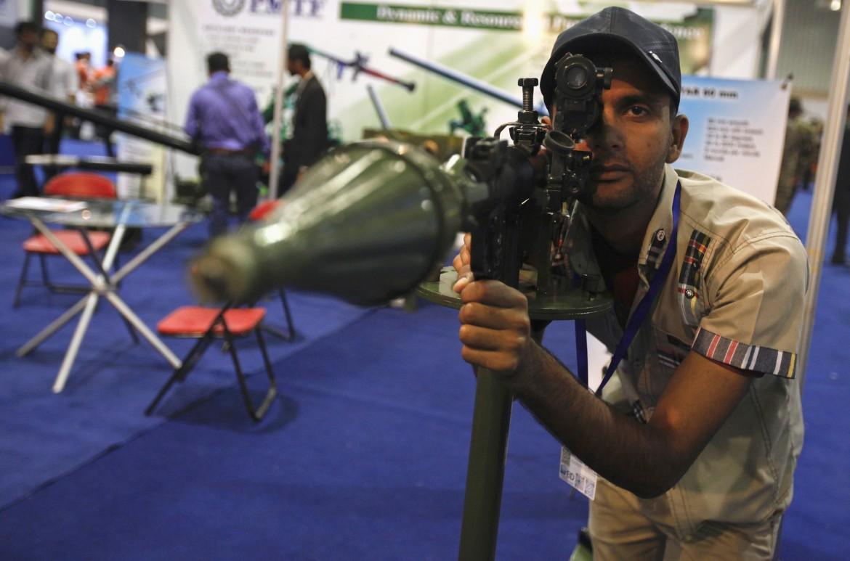 Fiera di armi in Pakistan