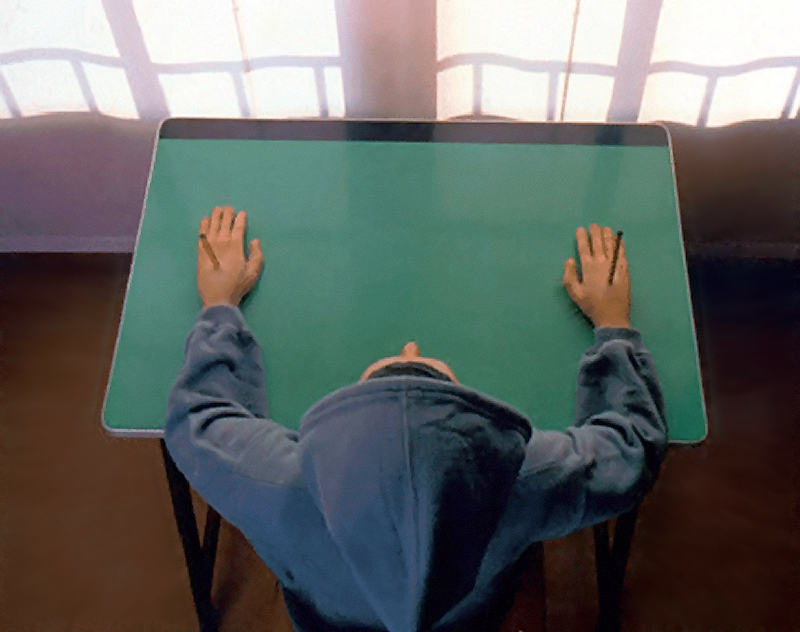 Maurizio Cattelan, «Charlie don't surf», 1997