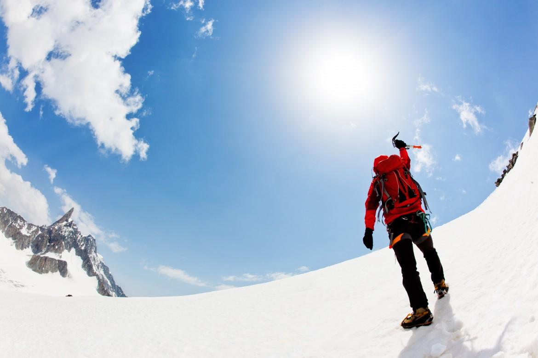 Sul Monte Bianco