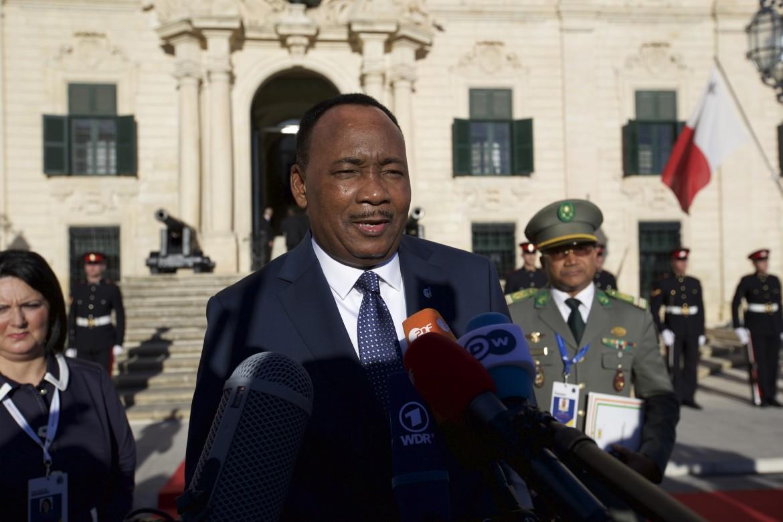 Il presidente del Niger, Mahmadou Issoufou