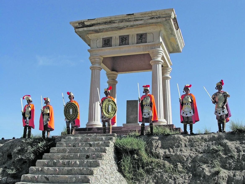 Finte rovine e finti centurioni nell'antica Liqian, nell'odierno Gansu