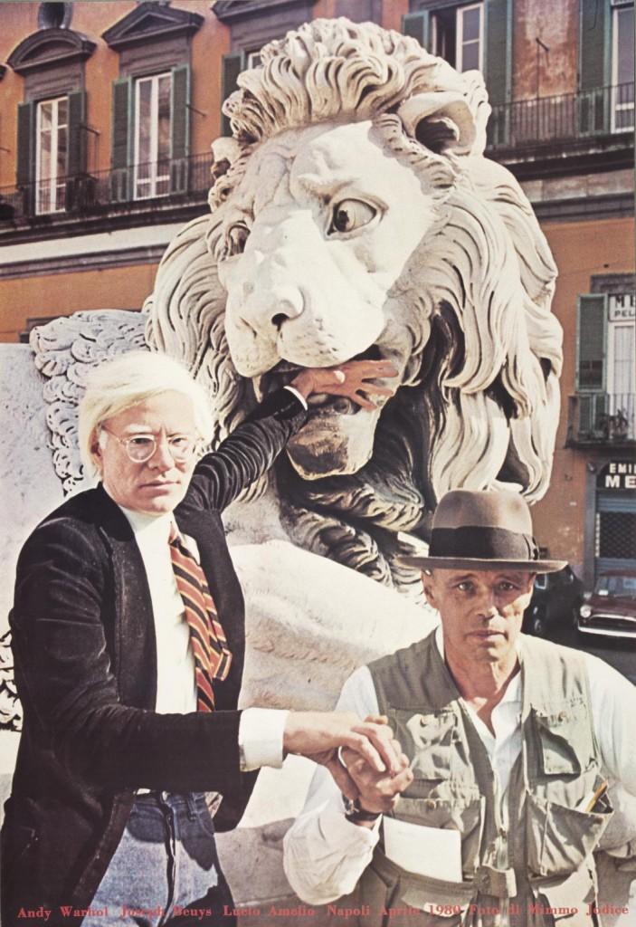Andy Warhol e Beuys a Napoli negli anni 80