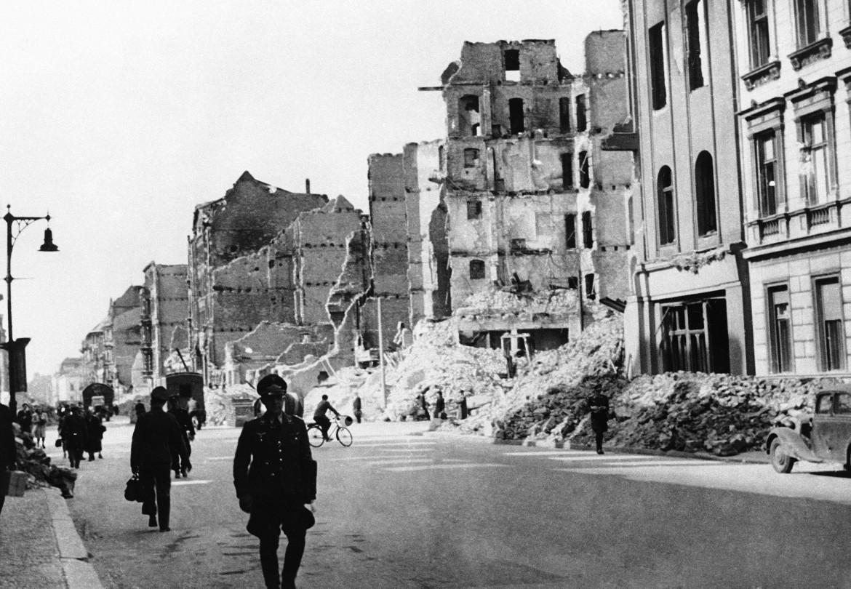 Rovine di Berlino dopo la guerra
