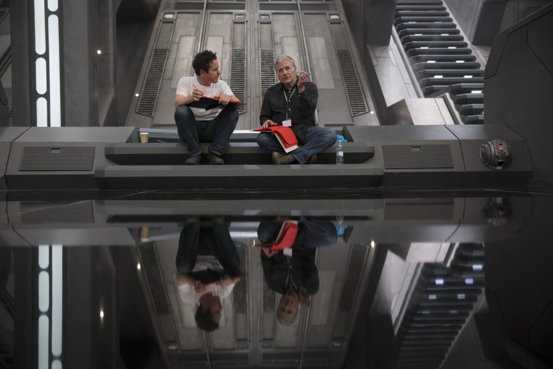 JJAbrams sul set di Star Wars