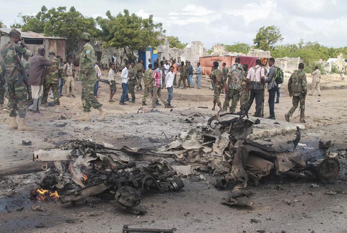 Un attacco suicida a Mogadiscio della scorsa estate