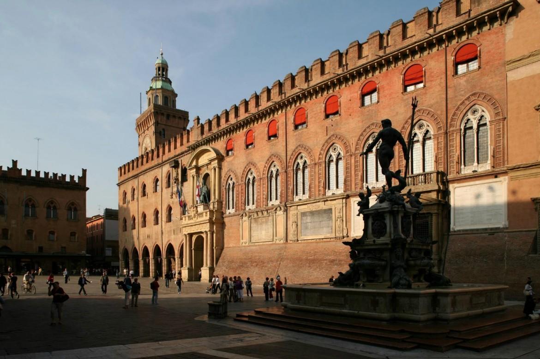 La sede del comune di Bologna