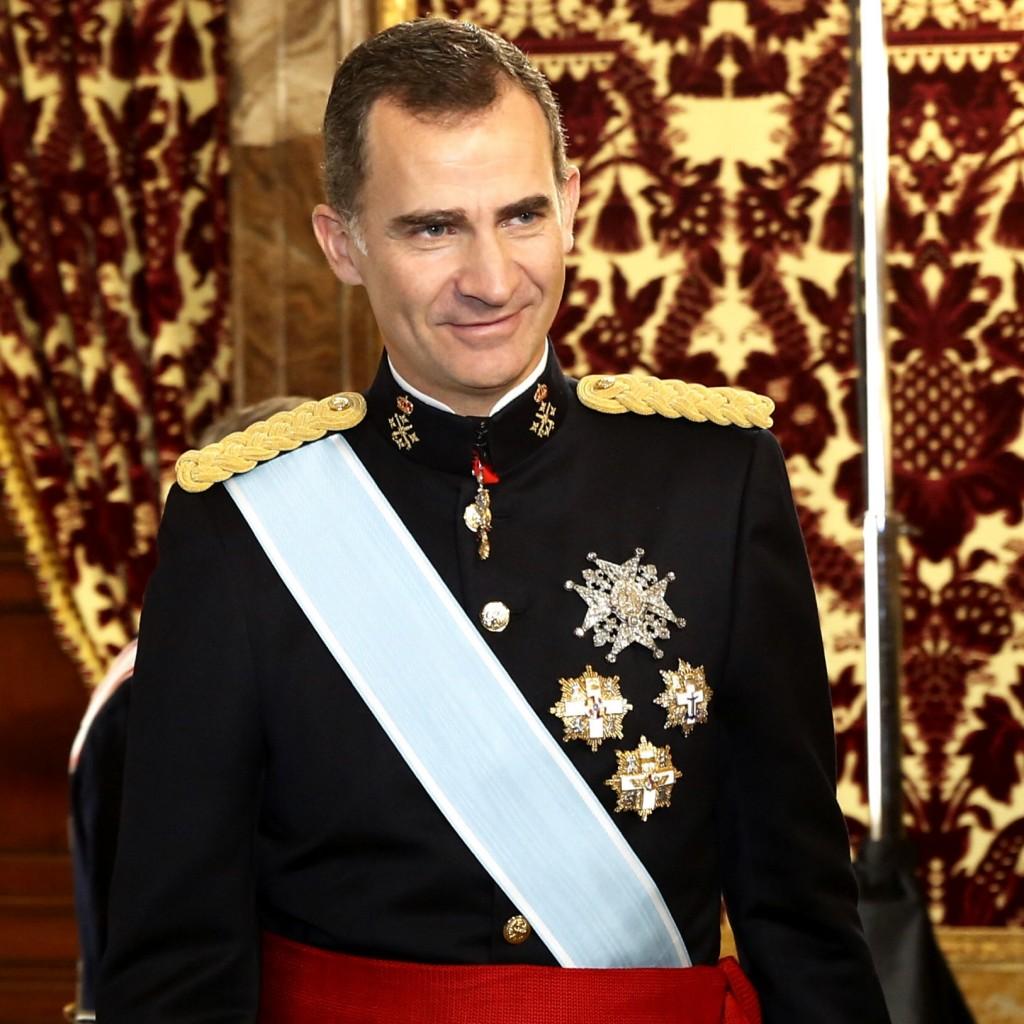 Il monarca spagnolo Felipe VI