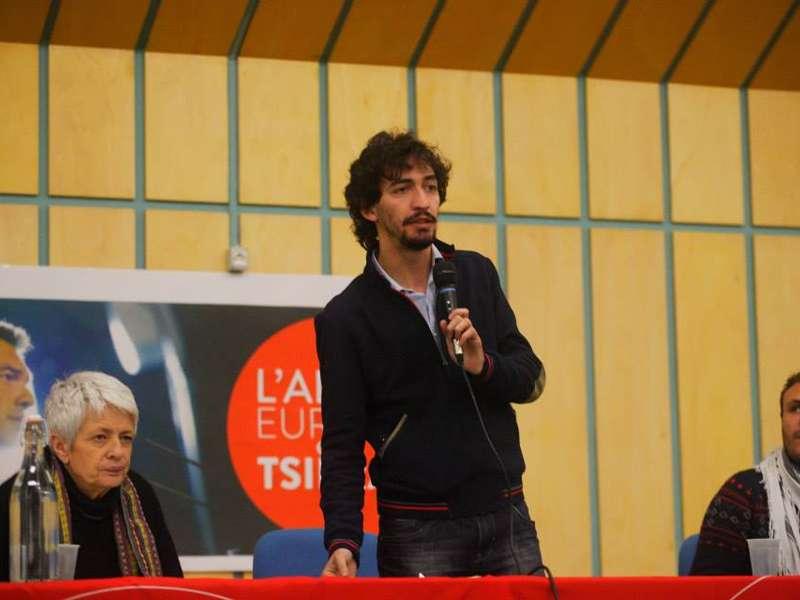 Claudio Riccio, trent'anni, attivista di Act (Agire, costruire, trasformare)