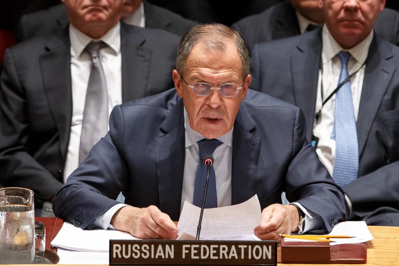Il ministro degli Esteri Lavrov
