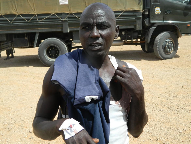 Un sopravvissuto dell'attacco a Mandera, Kenya, rivendicato da Al-Shabaab nel luglio scorso