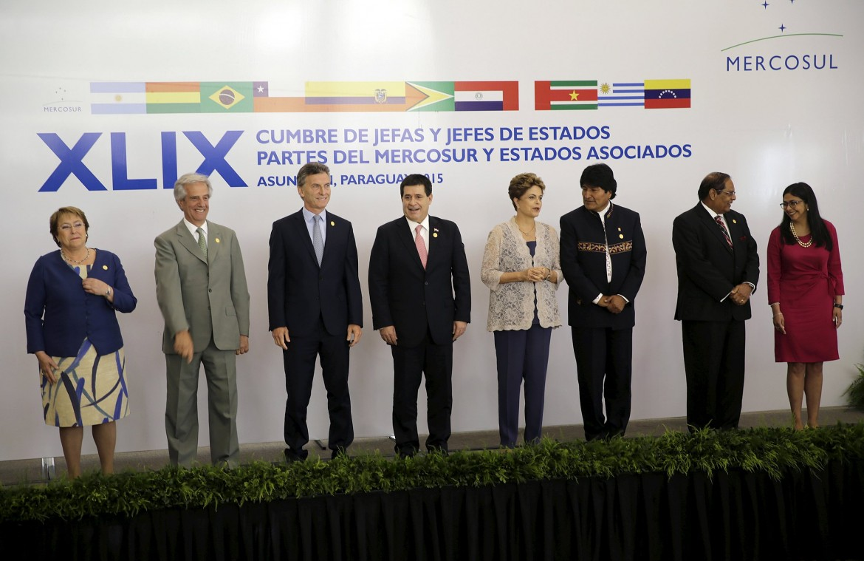 Asuncion, il vertice del Mercosur