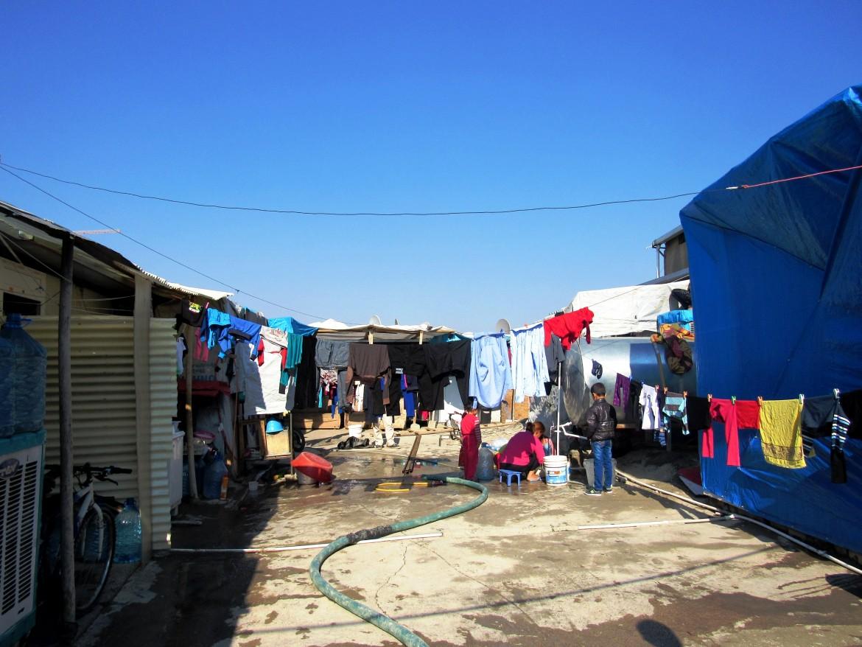 Il campo profughi di Ashti, Erbil, accoglie sfollati iracheni cristiani