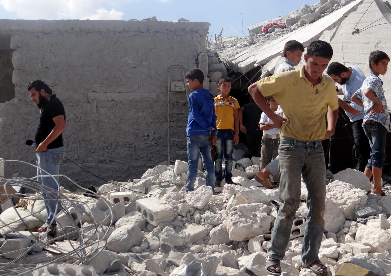 Le macerie della Siria