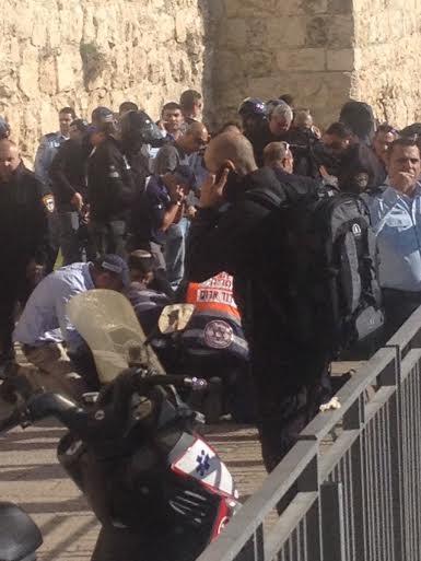 Gerusalemme. Ieri alla Porta di Giaffa