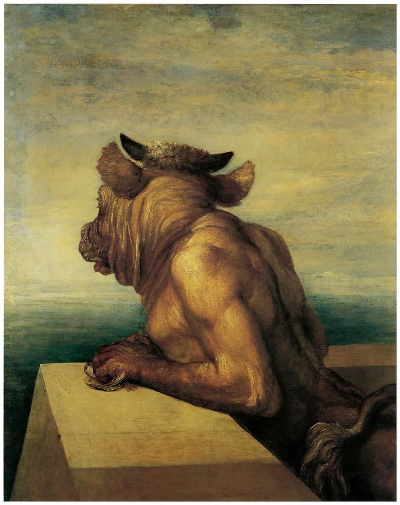 Frederic Watts, The Minotaur, 1885